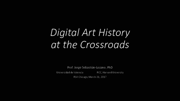f85a575156 PDF) Digital Art History at the Crossroads | Jorge Sebastián Lozano ...