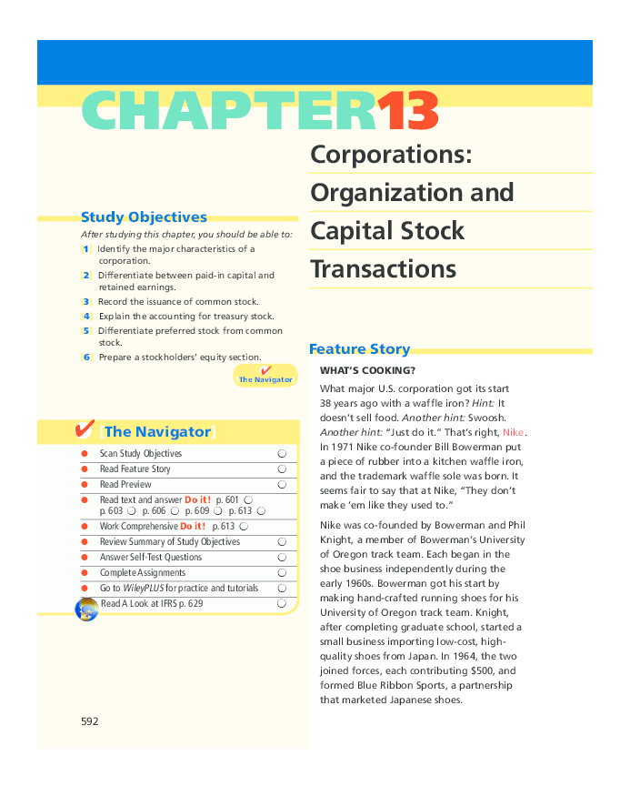 PDF) Chapter 13 Corporations