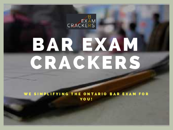 PDF) Ontario Bar Exam Prep | aaron sailor17 - Academia edu
