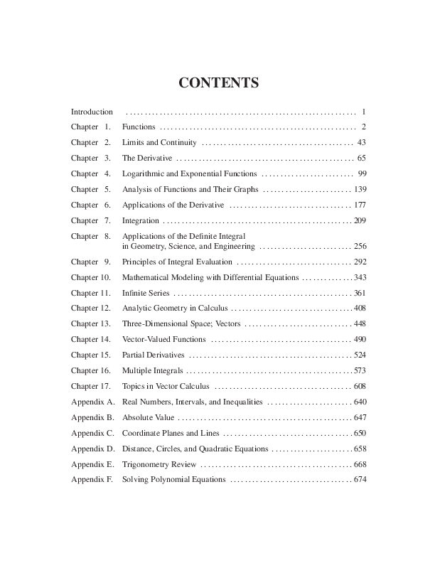 PDF) Calculus Early Transcendentals 10th Edition Solution
