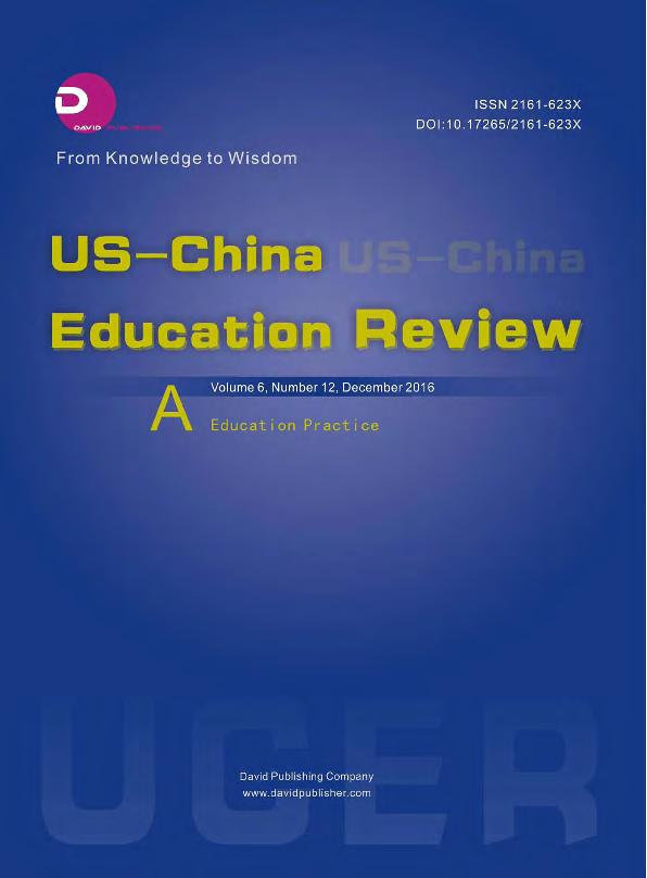 PDF) US-China Education Review 2016(12A).pdf | US-China Education ...