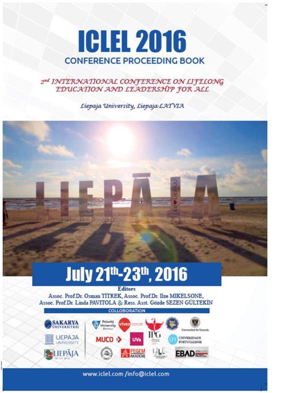 PDF) ICLEL 2016 CONFERENCE PROCEEDING BOOK d k megabaytl .pdf ...
