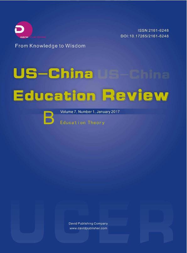 PDF) US-China Education Review 2017(1B).pdf | US-China Education ...