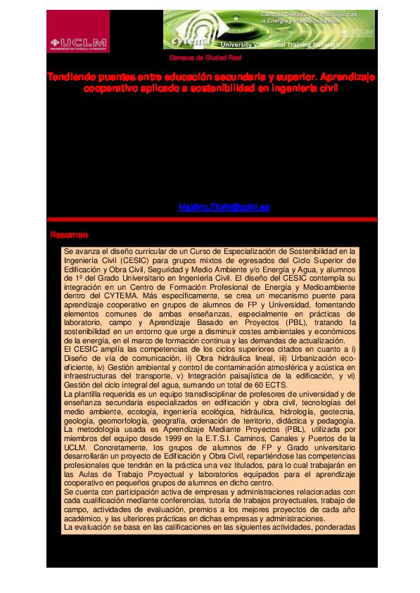 Pdf Manuscript Of Muñoz Et Al 2013 Tendiendo Puentes