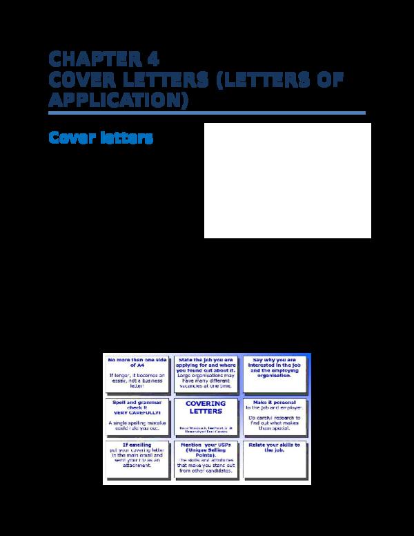 DOC) UNIT 4 COVER LETTERS | mostafa nabil - Academia.edu