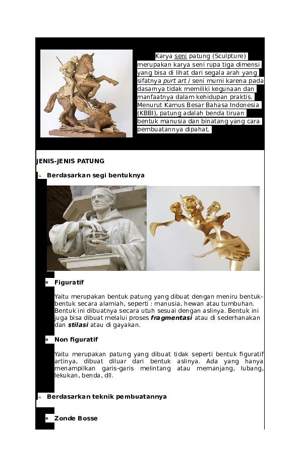 89 Gambar Patung Nonfiguratif/abstrak Kekinian