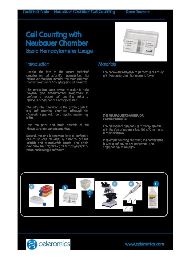 PDF) Cell counting Neubauer chamber | kelompok j8 - Academia edu