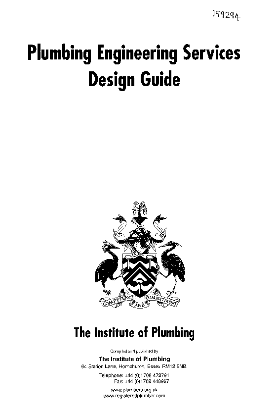 PDF) Plumbing Engineering Services Design Guide | Firas