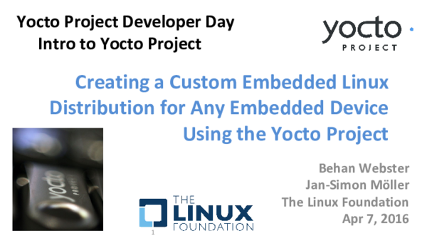 PDF) Creating a Custom Embedded Linux Distribution for Any