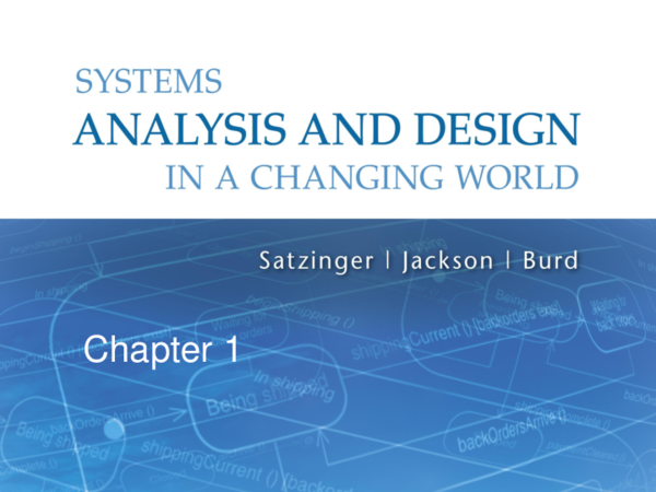 Pdf Systems Analysis And Design In A Changing World 6th Edition 1 Chapter 1 Omar Ahmad Academia Edu