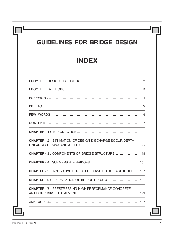 Bridge Design Pdf
