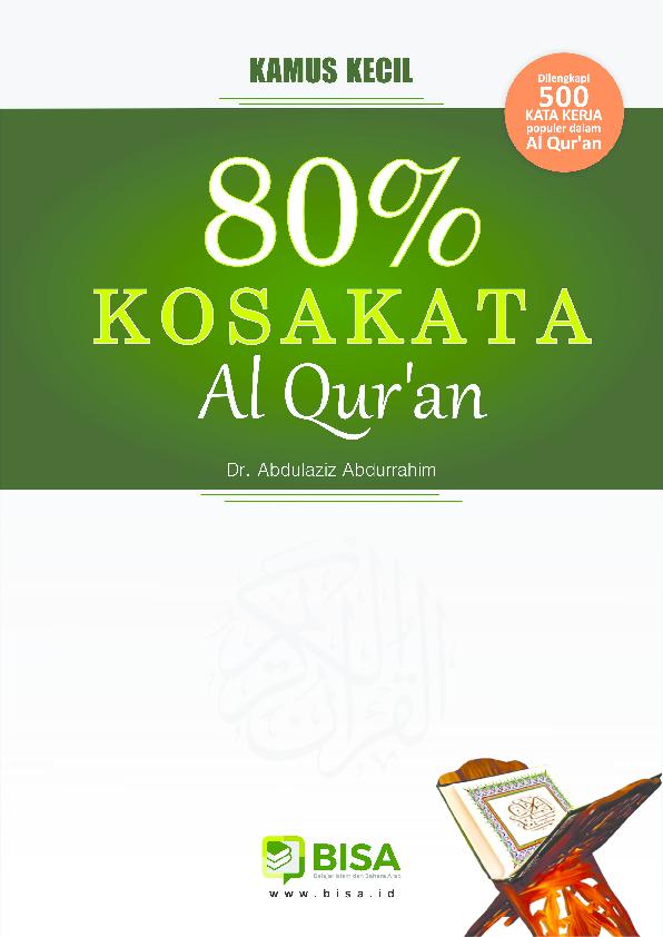 Pdf Ebook 80 Kosakata Al Quran Amir Mukminin