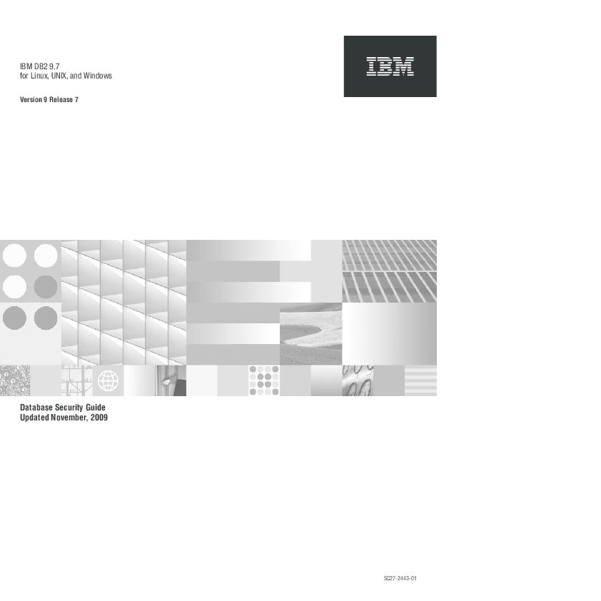 PDF) IBM DB2 9 7 for Linux, UNIX, and Windows Database