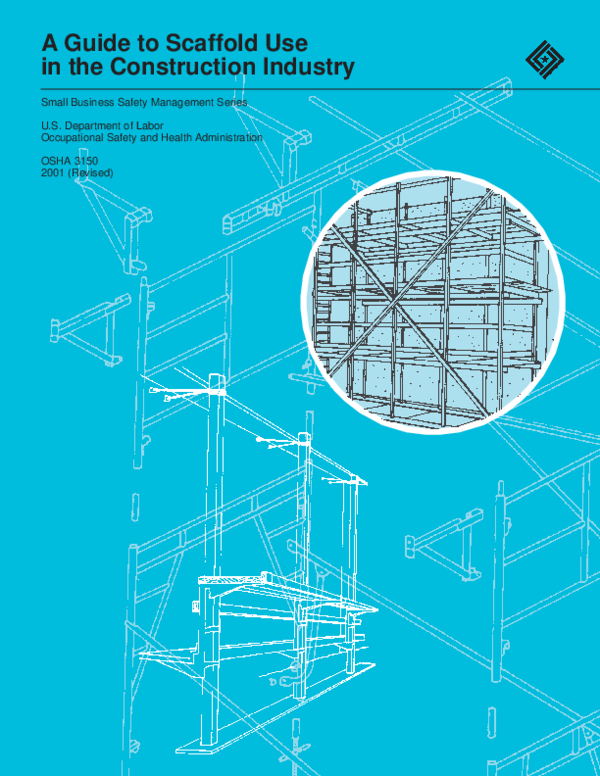 Guide to Scaffold Use in the Construction Industry