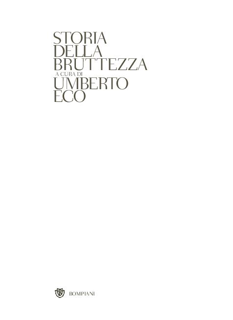 ac2f32fe4a PDF) STORIA DELLA BRUTTEZZA A CURA DI | Amares Colectivo - Academia.edu