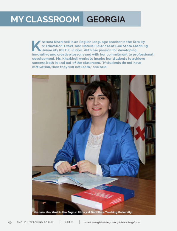 PDF) My Classroom: Georgia   Melanie Baker - Academia edu