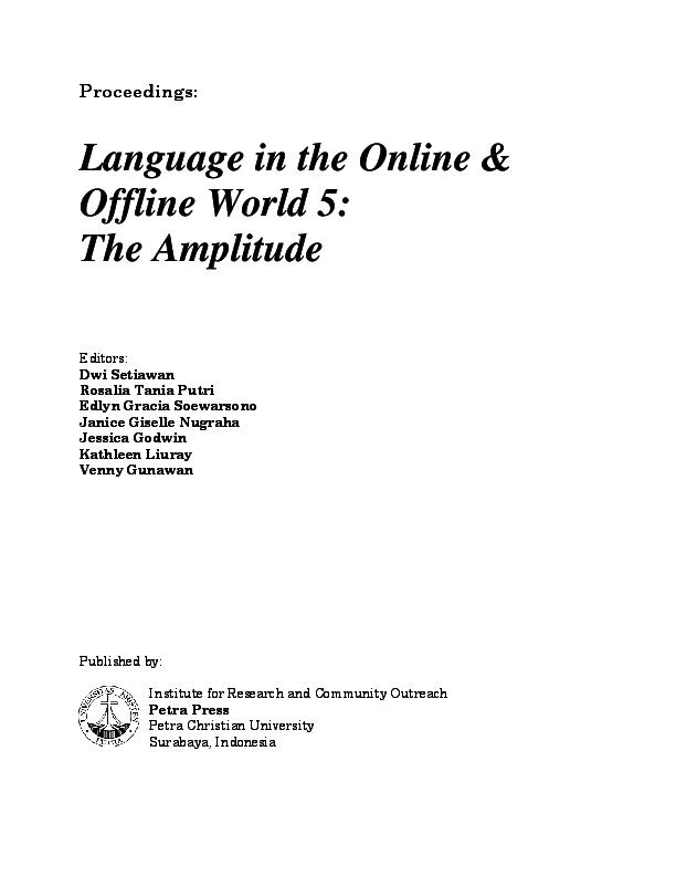 PDF E C IDENTIFICATION THROUGH THEME ANALYSIS IN THE