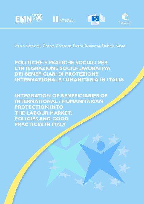 PDF) POLITICHE E PRATICHE SOCIALI PER L'INTEGRAZIONE SOCIO
