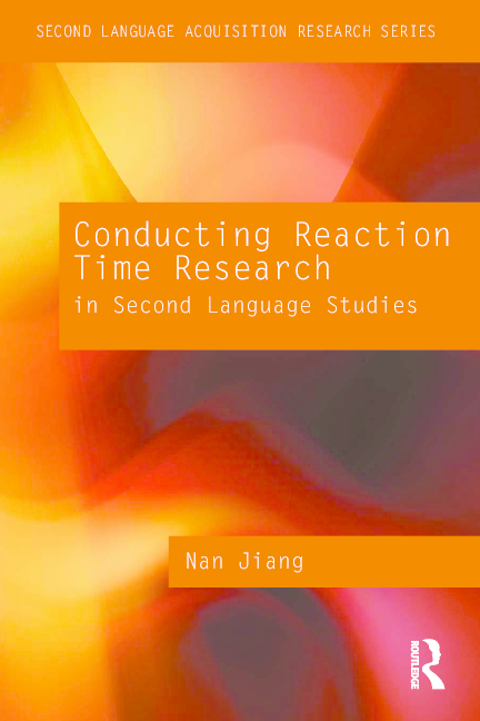 PDF) SECOND LANGUAGE ACQUISITION RESEARCH SERIES Conducting Reaction