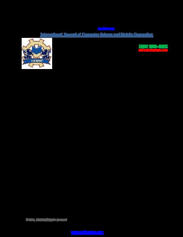 Pdf International Journal Of Computer Science And Mobile Computing Hospital Database Management System Deepak Tripathee Academia Edu