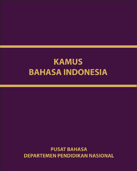 Pdf Digital 40368 Indonesian Language Dictionaries Kamus