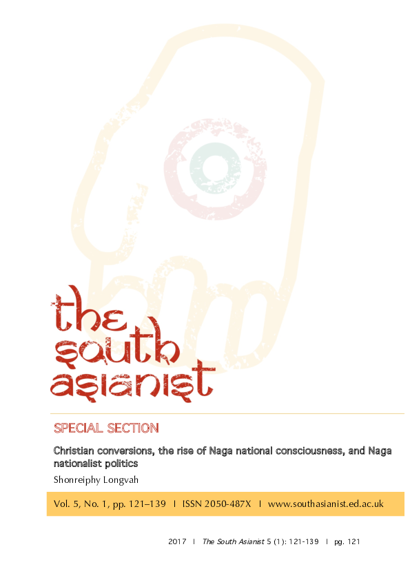 PDF) Christian conversions the rise of Naga national consciousness