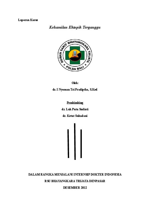 Doc Laporan Kasus Ket Herawati M Tahier Academia Edu