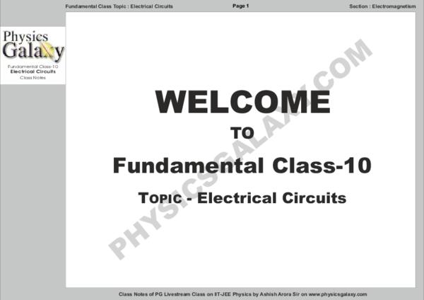 PDF) 326733192-Fundamental-Class-10-Electric-Circuits-by