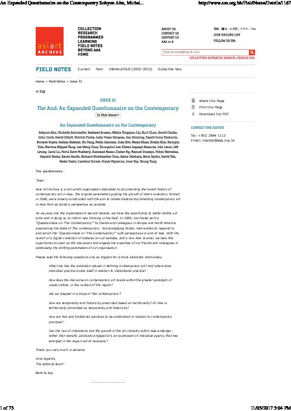 PDF) Antoinette, M 2012, Response to