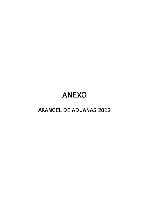 7843763fdf DOC) Arancel- | Enrique manya - Academia.edu