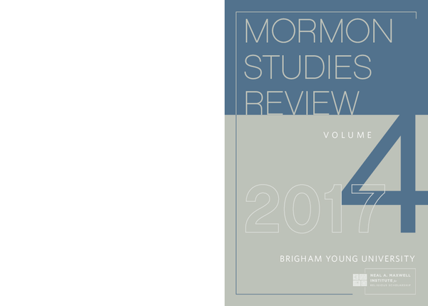 Mormon Scholars And Mormon Families In Family Studies A Brief