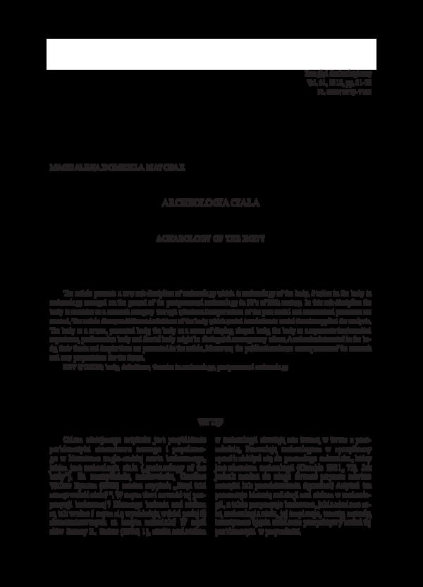 Definicja relatywnego datowania w archeologii