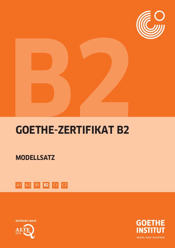 Institut a1 wortliste goethe German B2