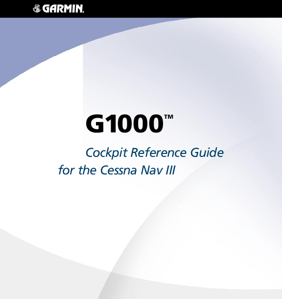 PDF) G1000 TM Cockpit Reference Guide for the Cessna Nav III