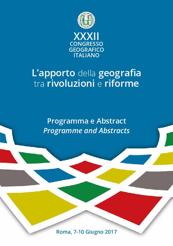 023768ae6d15 PDF) XXXII CONGRESSO GEOGRAFICO ITALIANO