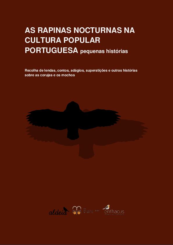 As Rapinas nocturnas na cultura popular portuguesa  pequenas ... d7ab1f7317362