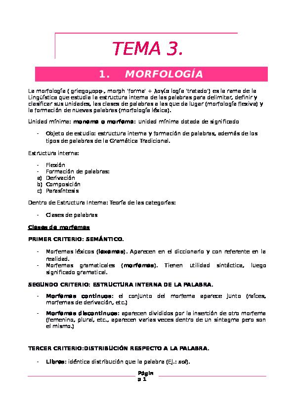 Doc Morfologia Y Sintaxis Altair Isaac Academia Edu