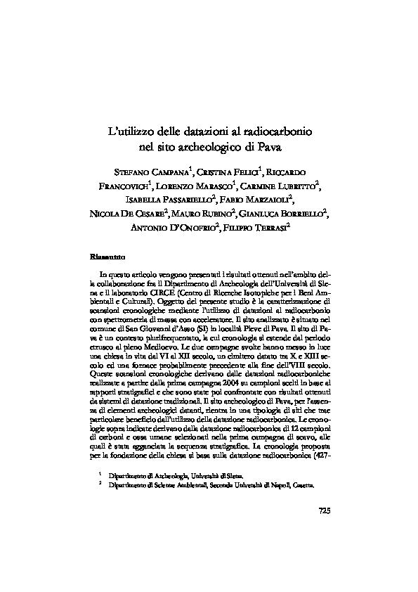 limiti di età di datazione al radiocarbonio
