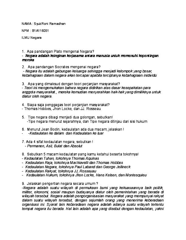 Deskripsikan Proses Kembalinya Indonesia Ke Dalam Bentuk ...