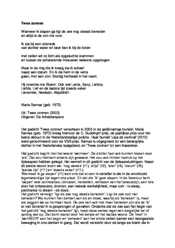 Wonderbaarlijk PDF) Maria Barnas - Twee zonnen   Jeroen van den Heuvel - Academia.edu RL-24