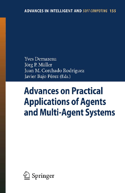 PDF) Advances on Practical Applications of Agents and Multi-Agent ...