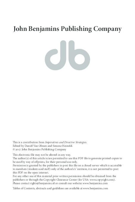 PDF) imperatives.pdf   Caterina Donati and Chiara Branchini ...