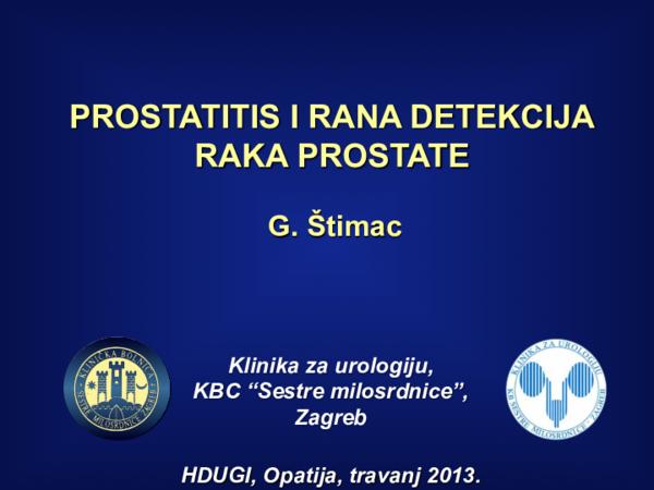 Talán a prostatitis hátfájásából