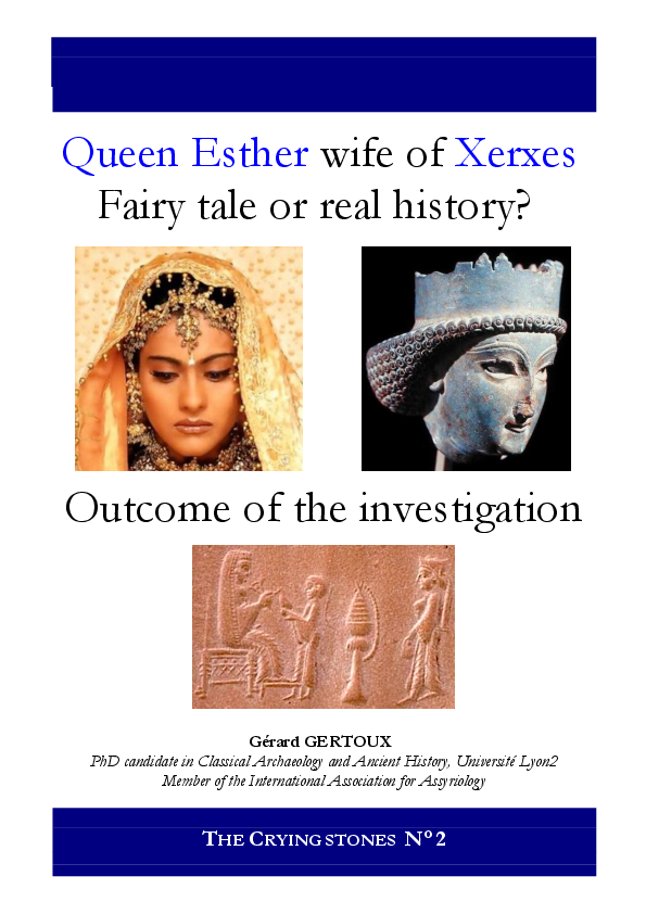 Queen Esther Wife Of Xerxes Fairy Tale Or History Outcome Of The