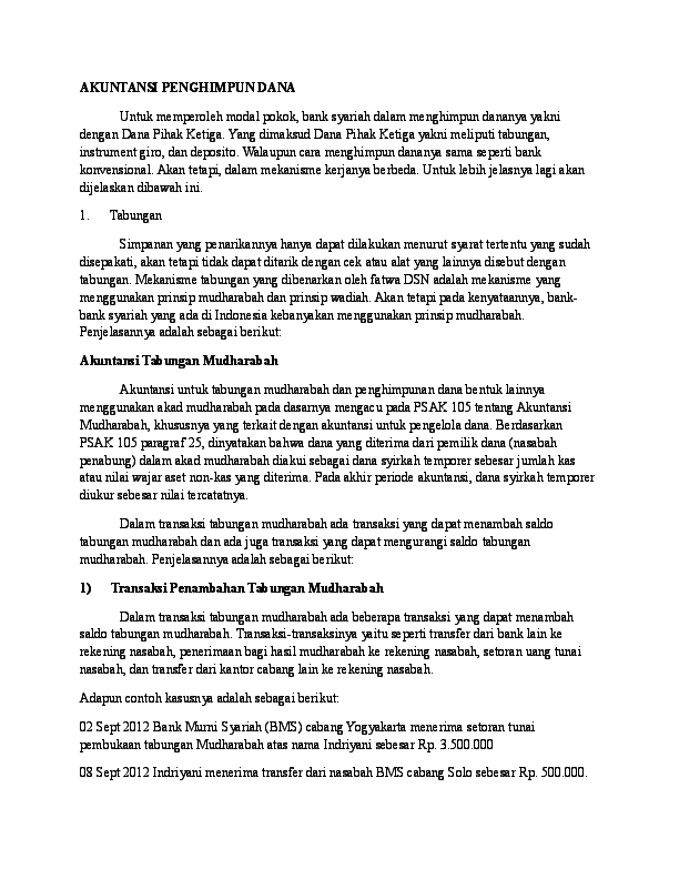 Psak 105 Akuntansi Mudharabah Ebook