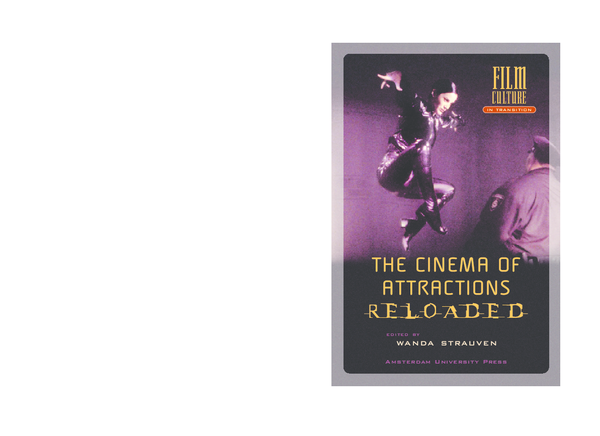 PDF) THE CINEMA OF ATTRACTIONS FILM CULTURE FILM CULTURE EDITED BY