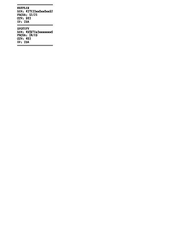 BIN NETFLIX+SPOTIFY IP USA | RinoSanchezSg Errevecuatro - Academia edu