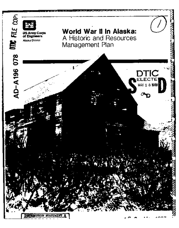 PDF) World War 2 in Alaska: A Historic and Resources