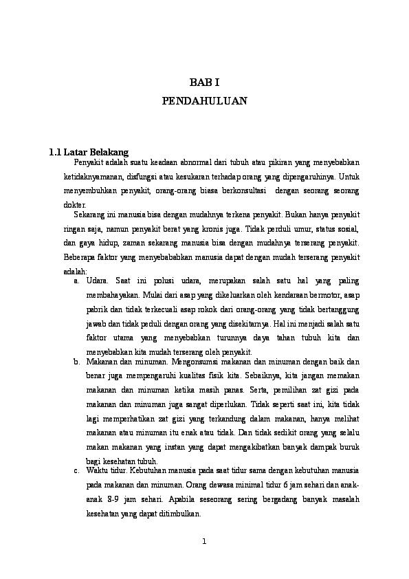Doc Karya Tulis Ilmiah Ayu Chairil Putri Academia Edu