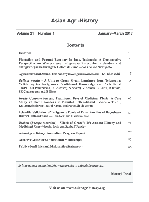 PDF) AAHF JournaPLANTATION AND THE PEASANT ECONOMY IN JAVA